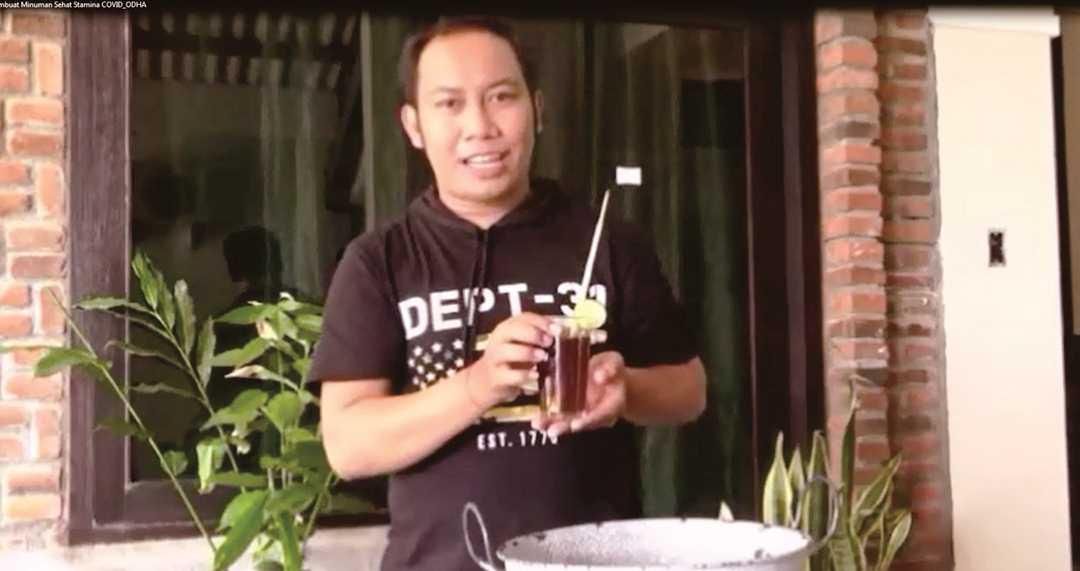 Tutorial Buat Minuman Sehat untuk ODHA